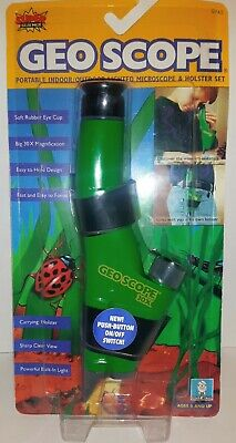 Super Science Geo Scope Portable Indoor/Outdoor Lighted 30X Microscope & Holster