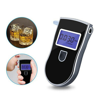 New Pro LCD Digital Breath-Alcohol Tester Breathalyser Police Drink Driving Test