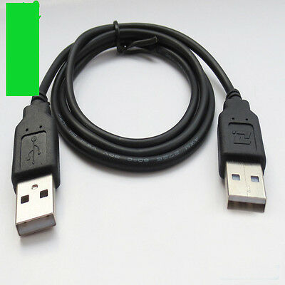 Necessary Tool 70cm High Speed USB 2.0 Shielded A Male to Male Cable Lead Black