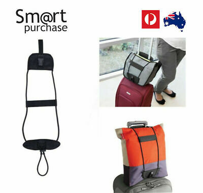 Belt Add A Bag Strap Carry On Bungee Travel Luggage Suitcase Adjustable Tape w