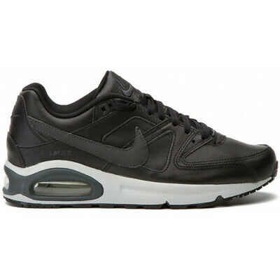 Scarpe uomo Nike Air Max Command Leather 749760 001 nero sneakers sportiva pelle