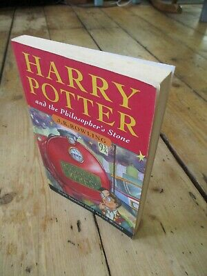 Harry Potter and the Philosopher's Stone, First Edition 1/61, Bloomsbury, Pb