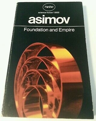 BOOK - Vintage Panther Science Fiction PB Isaac Asimov Foundation & Empire 1972