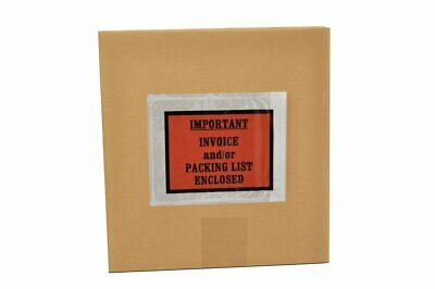 """Packing List / Invoice Enclosed 4.5"""" x 5.5"""" Shipping Envelopes 4000 Pieces"""