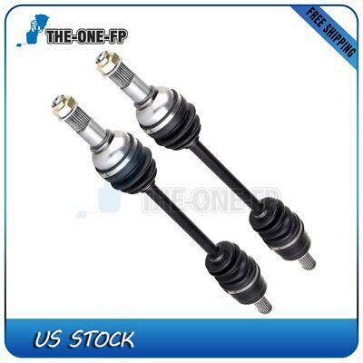 2pc Left Right Rear CV Axle,Yamaha Grizzly 550 700 2004 2005 2006 2007 2008-2013