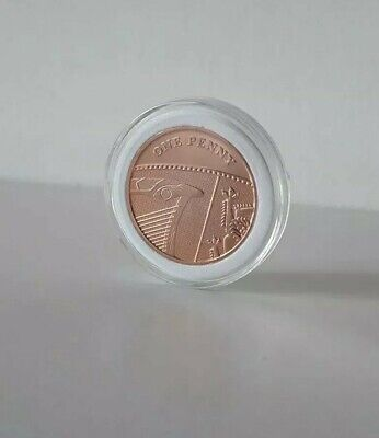 2018 1p Coin One Pence Shield Royal Mint Penny Brilliant Uncirculated #5