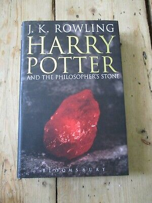 Harry Potter and the Philosopher's Stone, First Edition, 1/1, Bloomsbury, HB