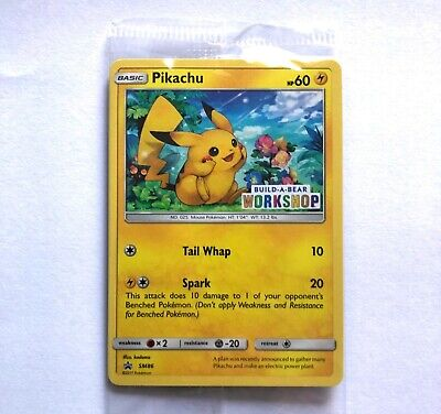 Details about  /Pikachu Build-A-Bear New /& Sealed Promo 20//108 Pokemon Card