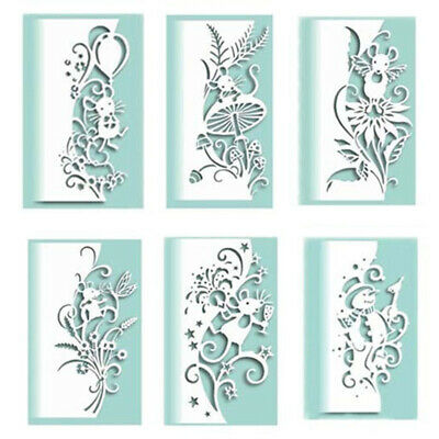 Cutting Dies Mouse Edger Scrapbooking Dies Embossing Stencil Metal DIY Decor