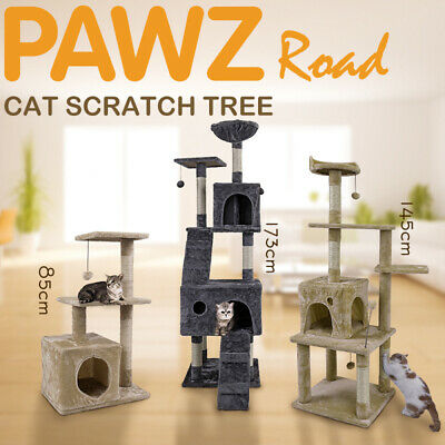 Cat Tree Scratching Post Gym Play Toy House Scratcher Pole Condo House Furniture