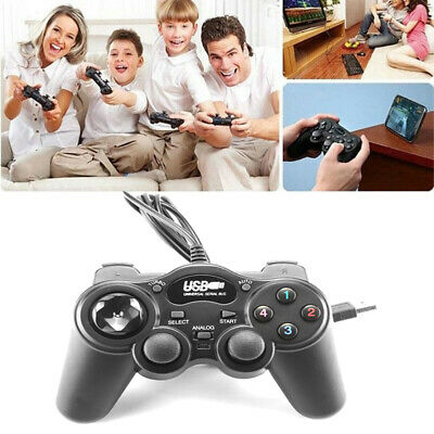 New USB Wired USB Remote Game Controller Gamepad for PC Windows XP 7 8 10 Vista