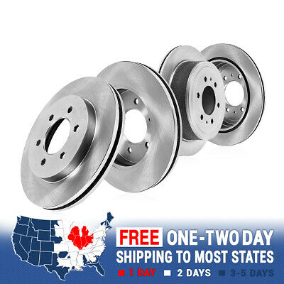 Front+Rear Brake Rotors Ceramic Pads For Terraza Chevy Uplander Montana Relay
