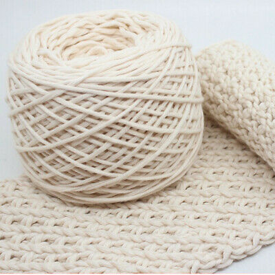 Wall Hanging Craft Making, Decorative Projects Original Color Cotton String AU