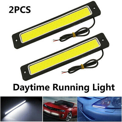 """2x 20/"""" Side Glow Audi A5 R8 Style 20 SMD LED Strip Daytime Running Light White"""