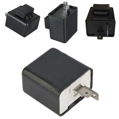 Adjustable 2 Pin Turn Signal Indicator Resistor Flasher Relay Blinker