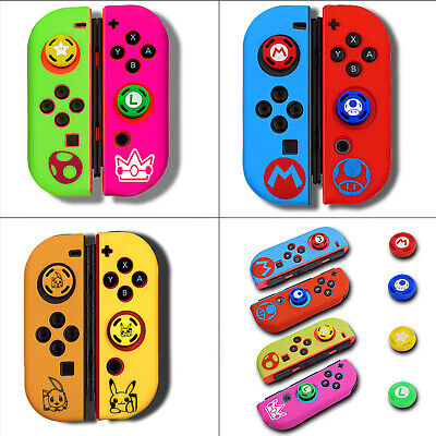 Protective Silicone Thumb Grip Button Cap for Switch Joy Con Game Controller