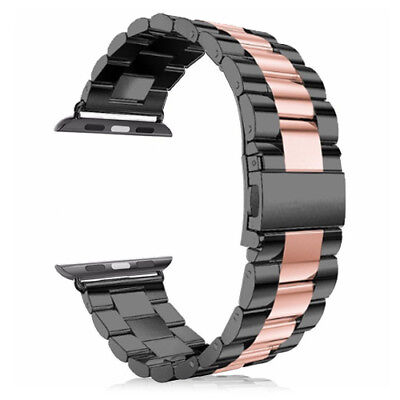 For Apple Watch Series 1/2/3/4/5 38/40/42/44MM Strap Stainless Steel Watch Band