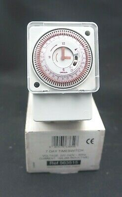 Vent Axia 7 Day Timeswitch 563515