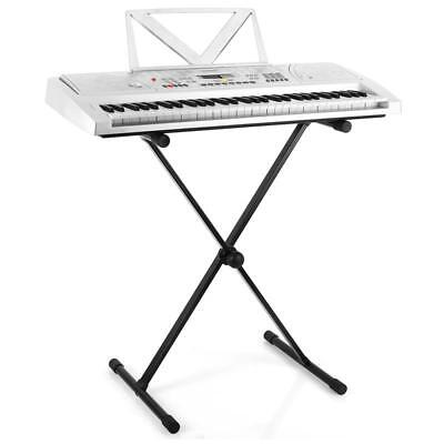 [B-Stock] ROBUST KEYBOARD STAND STURDY LIVE STAGE MOUNT EASY TRANSPORT FOLDABLE