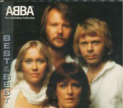 """ABBA """"The Definitive Collection"""" Best Of 2CD"""