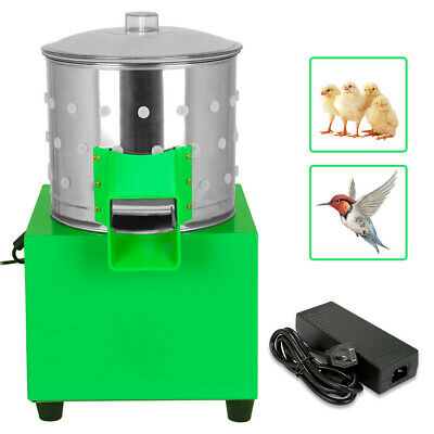 80W Small Chicken Dove Feather Plucking Machine Poultry Plucker Birds Depilator