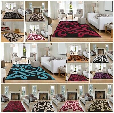 Modern Small Extra Large Carved Quality Thick Floor Long Carpet Runner Rugs Mats