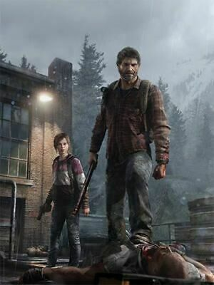 NEW The Last of Us: The Poster Collection By Naughty Dog Paperback Free Shipping