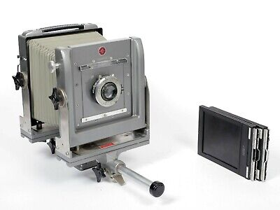 Calumet CC400 4X5 Camera with Kodak 203mm Lens + Holders