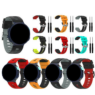 NEW Silicone Watch Strap for Garmin Forerunner 235/235lite/220/230/620/630/735xt