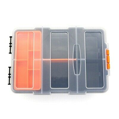Frosted Plastic Hardware Parts Box Household Assortment Screw Tool Box lskn