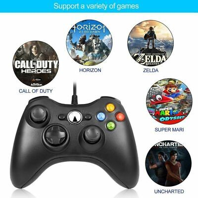 NEW USB Wired Joypad Gamepad Controller For Microsoft Xbox 360 PC Windows XP PC