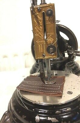 Antique  Jones Swan Neck Serpentine Sewing Machine
