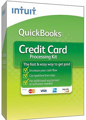 Payment Processing for Intuit QuickBooks Desktop + Bluetooth Credit Card Reader