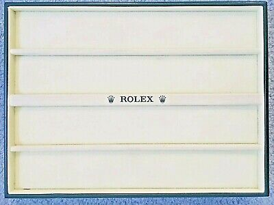 Rolex Retail Store Watch Dealer Display Tray for Multiple Watches Holder Velvet