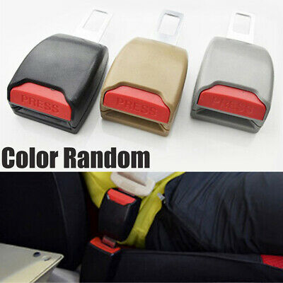 1 Pair Auto Car Safety Seat Belt Buckle Clip Adjustable Extension Extender New