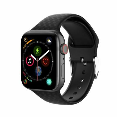 1*38MM/42MM Bande Sangle iwatch Bracelet Silicone Pour Apple Watch Series1 2 3 4