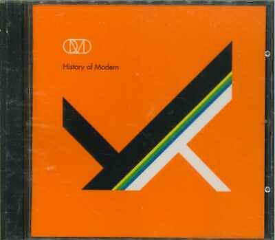 """ORCHESTRAL MANOEUVRES IN THE DARK (OMD) """"History Of Modern"""" CD-Album"""