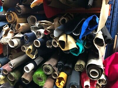 40M JOBLOT WATERPROOF FABRIC MIXED COTTON CANVAS Outdoor MATERIAL Clothing 150CM