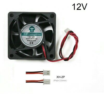 Ventilador 6025 12v Fan 60x60x25mm impresora 3d Arduino Elettronica Brushless