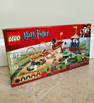 LEGO 4737 Harry Potter Quidditch Match, BRAND NEW and FACTORY SEALED retired NIB