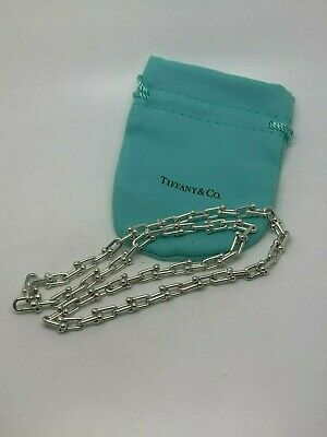 Tiffany & Co. Hardwear Link Chain Sterling Silver 18' Inch Necklace RARE $1025