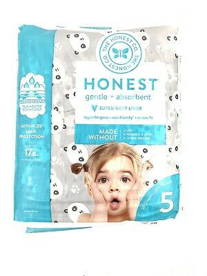 The Honest Company Baby Diapers, with Trueabsorb Technology, Size 5, 20 Count
