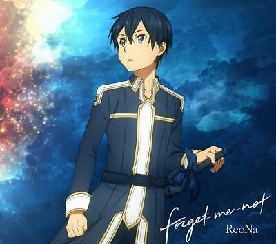 Anime Sword Art Online Ending Theme forget-me-not 2019 CD w/DVD New w/Tracking#