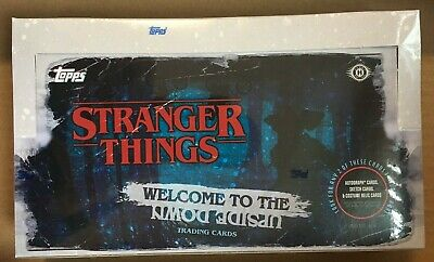 2019 Topps Stranger Things Welcome to the Upside Down Hobby Box Factory Sealed