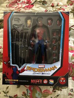 Mafex 047 Spider-Man Homecoming US Seller New Spiderman Authentic