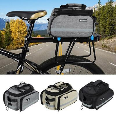 WEST BIKING Bicycle Bag Large Capacity MTB Road Bike Rear Rack Trunk Bag #VIC
