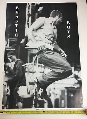 Beastie Boys black and white concert Poster
