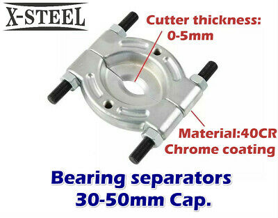 "Bearing Gears Bushes Pulley Separator Puller Splitter Removal 2"" 30-50mm Cap."