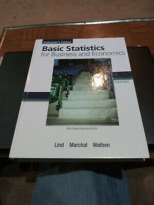 Basic Statistics for Business and Economics by Douglas A. Lind, William G....
