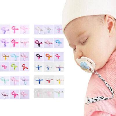 Universal Baby Kids Pacifier Clip Pacifier Holder Soothies Teething Ring Holder
